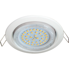 Ecola GX53 H4 Downlight without reflector_white (светильник) 38x106, FW53H4ECB