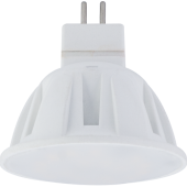 Ecola Light MR16 LED 4,0W 220V GU5.3 M2 4200K матовое стекло 46x50, M7MV40ELC