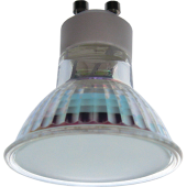 Ecola Light Reflector GU10 LED 3W 220V GU10 2800K матовое стекло 53x50, T1MW30ELC