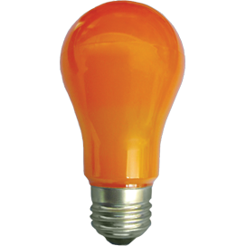 Ecola classic LED color 12,0W A60 220V E27 Orange Оранжевая 360° (композит) 110x60, K7CY12ELY