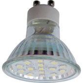 Ecola Light Reflector GU10 LED 3W 220V GU10 4200K прозрачное стекло 53x50, T1TV30ELC