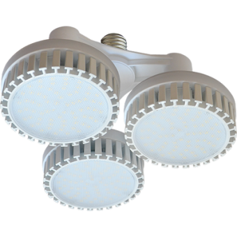 Ecola High Power LED Premium 69W 220V 110° E27 2800K (комплект) 165х260mm, HP7W69ELH