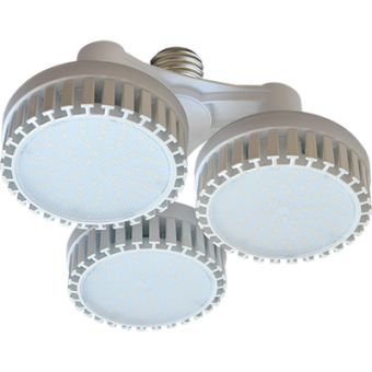 Ecola High Power LED Premium 69W 220V 110° E40 2800K (комплект) 170х260mm, HP4W69ELH